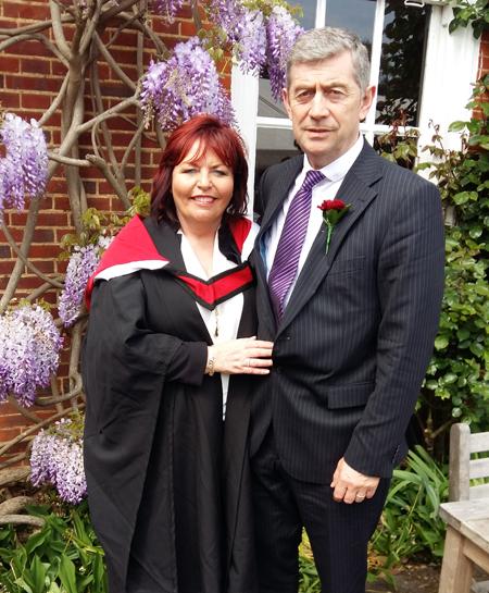 Anita and John Kirby