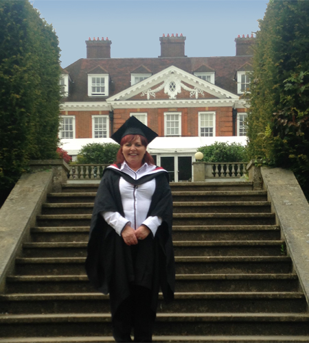 Graduation day at Hunton Park Hertfordshire