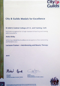 City and Guilds Lecturer