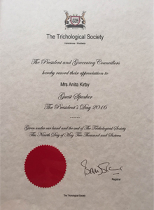 Trichological Society Guest Speaker